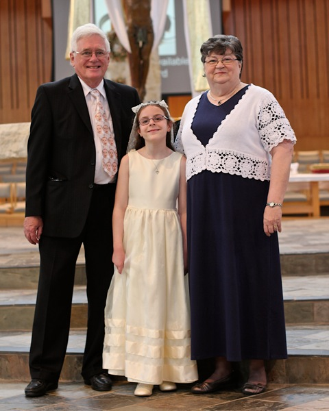 Audrey's First Communion