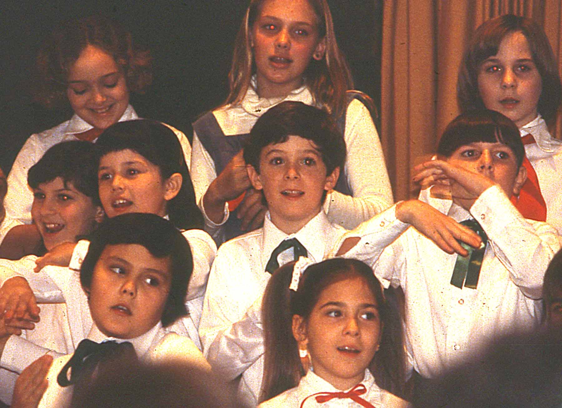 Patrick in the choir